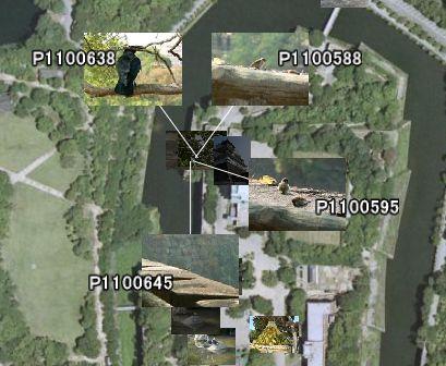 Google Earth マウスクリック