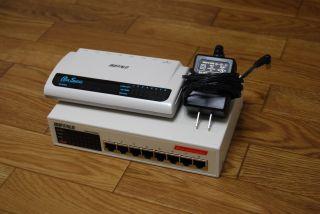 1000BASE-T Switching Hubと100BASE-TX Switching Hub